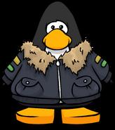Grey Pilot's Jacket PC