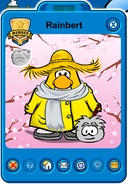 Rainbert Player Card - Early May 2019 - Club Penguin Rewritten (2)