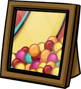 Ball Pit Background Prize Booth