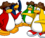 Penguin Band Background Artwork