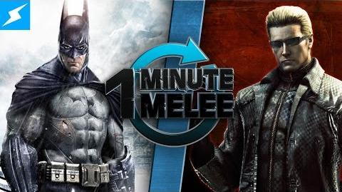 One Minute Melee - Batman vs Albert Wesker (DC Comics vs Resident Evil)