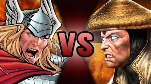 Thor VS Raiden DEATH BATTLE! ScrewAttack!