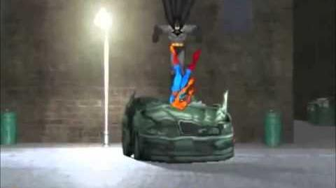 DEATH BATTLE - Batman VS Spider-Man fight