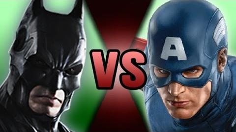Batman VS Captain America DEATH BATTLE! ScrewAttack