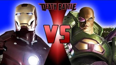 Iron Man VS Lex Luthor DEATH BATTLE!