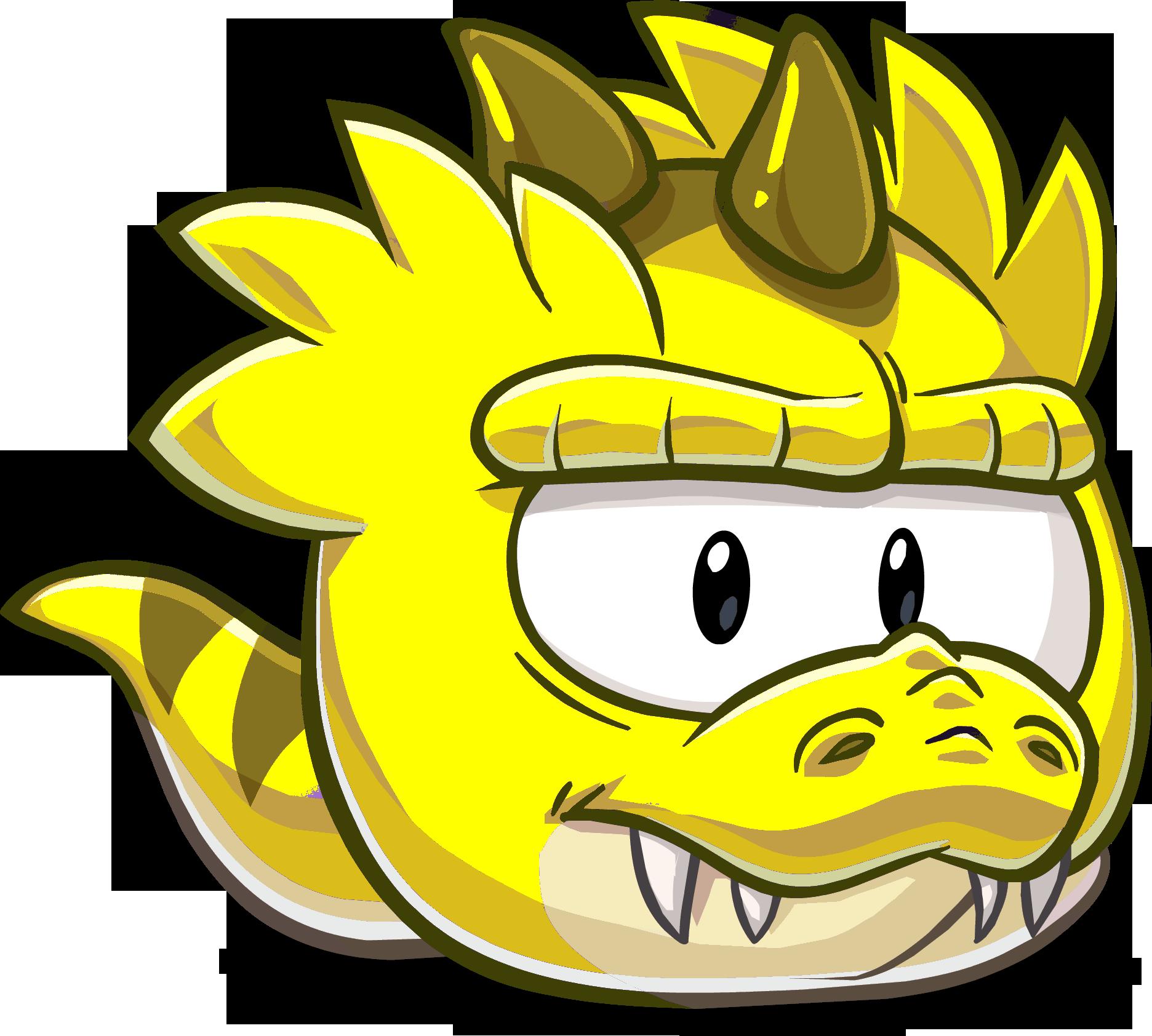 Puffle T-Rex Amarillo | Wiki Club penguin super fanon | FANDOM ...