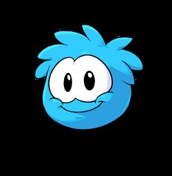 Puffle Transformation 2012 Blue