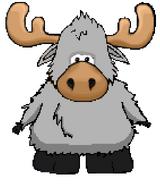 Gray Moose