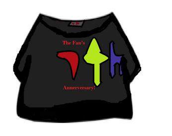 The Fan's Annerversary T-Shirt Sovenire
