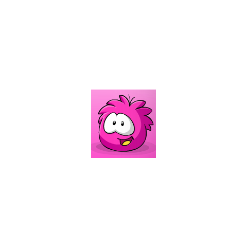 Another <b>Hot Pink</b> puffle image.
