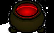 Caldero rojo