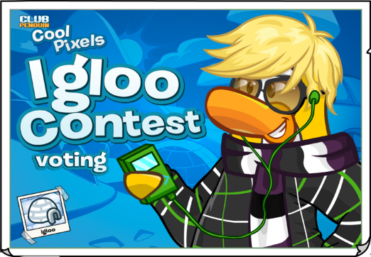 Cool Pixels Igloo Contest Ad