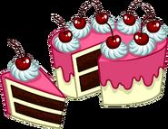 Puffle Care catalog icons Food 8 peice cake