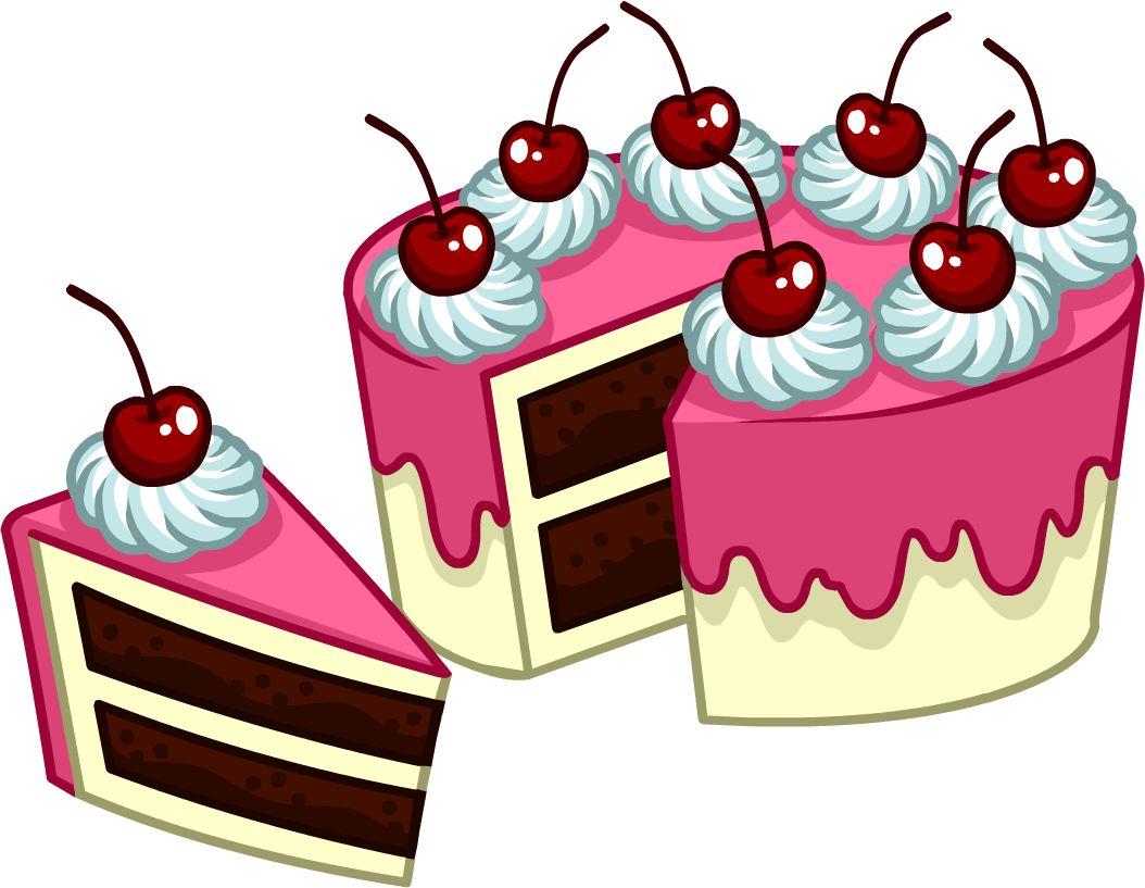 Image Puffle Care Catalog Icons Food 8 Peice Cake Png