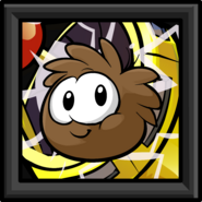 Brown Puffle Picture sprite 002