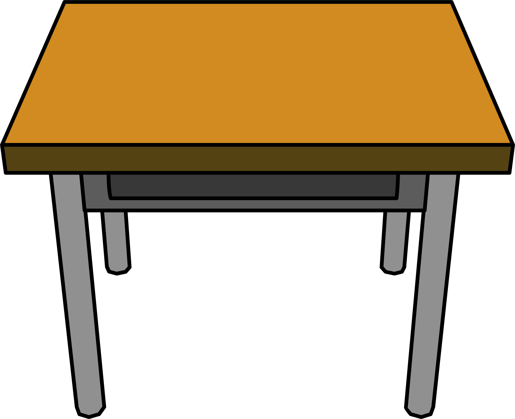 Classroom Furniture Dwg ~ Classroom desk club penguin wiki fandom powered by wikia