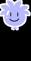 Globo de Puffle Violeta icono