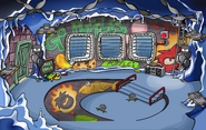 Puffle Party 2012 Underground Pool