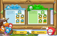 Puffle Party 2016 interface page 2