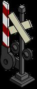 Railroad Crossing Sign sprite 001