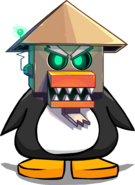 The Sensei-bot on a Player Card