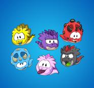 Dino pufffles