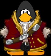 Disfraz de Pirata Dorado carta