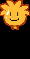 Orange Puffle Balloon icon