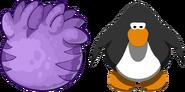 Purple T-rex Puffle Egg IG