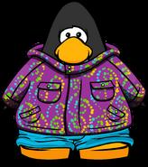 Purple Whirl Snowsuit PC