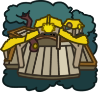 Yellow Puffle Tree House icon