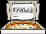 Box of Pizza full award