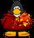 Custom Red Hoodie with Splatter
