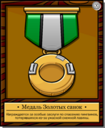 Mission 4 Medal full award ru