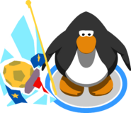 Penguin Cup Flag In-Game