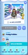 Tarjeta de Jugador Penny Pebbles Isla de Club Penguin