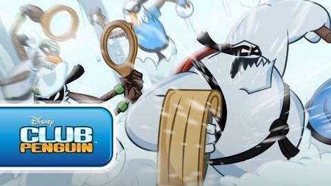 Card-jitsu Nieve Club Penguin oficial