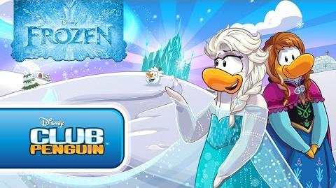 Club Penguin Frozen Party Official Trailer