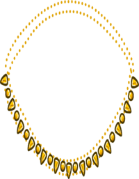 Collar Dorado icono