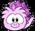 Estegopuffle rosa