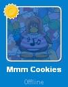 Mmm Cookies en la lista de amigos