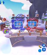 Mt Blizzard race finish