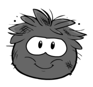New Style Dirty Black Puff;e