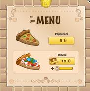10-3 pizza menu