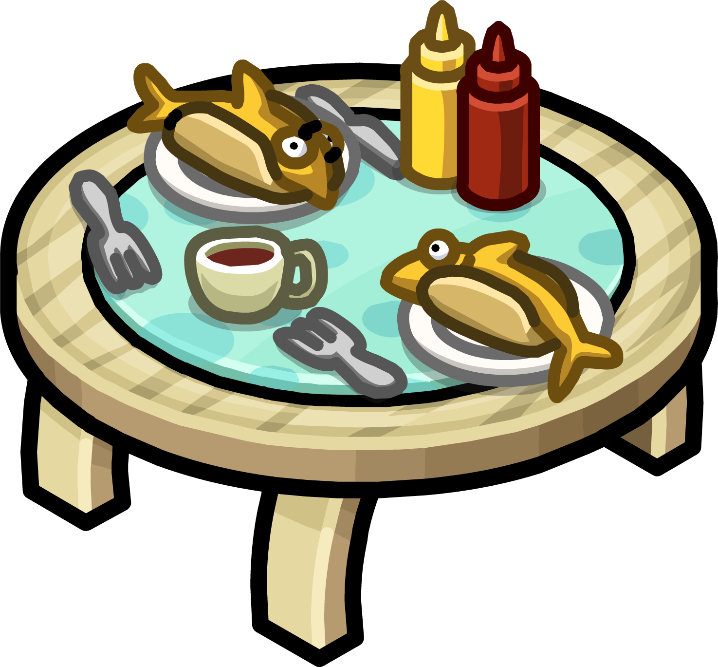 Table For Two. Furniture Icons 2166