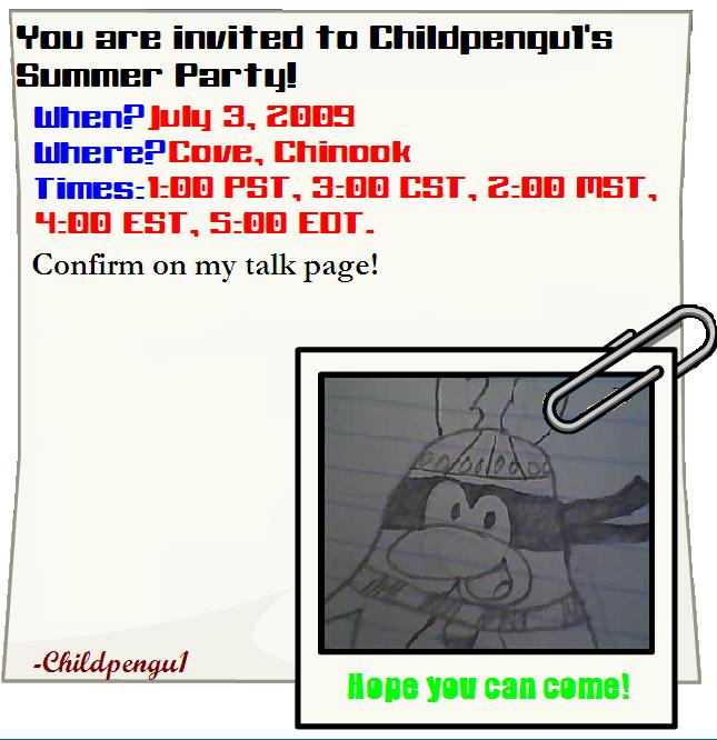 Invitation summer