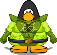Ooze Suit from a Player Card