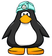 Puffle Care Cap from a Player Card