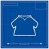 Blueprint poloShirt icon