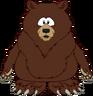 Brown Bear Costume icon